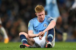 Kevin De Bruyne Injury Pep Guardiola Hopeful Manchester City Fulham Efl Cup