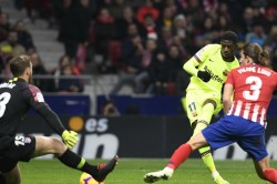 Dembele Saves Barcelona Point Against Atletico Madrid
