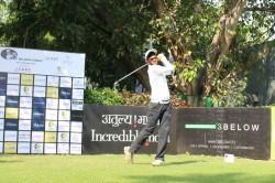 Golf Local Lad Karandeep Kochhar Moves Into Halfway Lead With Chikkarangappa