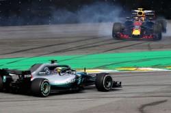 Lewis Hamilton Wins Brazilian Grand Prix Mercedes Win Double Ocon Verstappen
