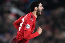 Manchester United Young Boys Champions League Match Report Fellaini