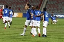 India Goes Down Fighting Jordan International Friendly