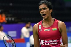 Hong Kong Open Pv Sindhu Beats Nitchaon Jindapol Enters Second Round