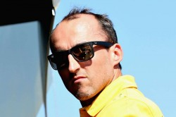 Kubica Handed Williams Drive For