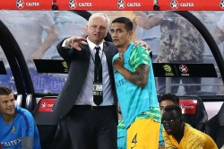 Australia Lebanon Martin Boyle Bags Brace Tim Cahill Farewell
