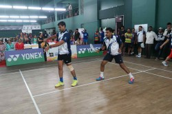 Ibl 2018 Badminton Tournament In Indiranagar Club Commences Amidst Great Excitement