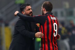 Ac Milan 2 Spal 1 Gonzalo Higuain Ends Drought To Ease Pressure On Gennaro Gattuso