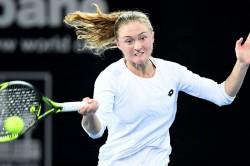 Sasnovich Topples Svitolina Kvitova Beaten Brisbane