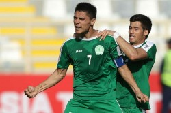 Turkmenistan Uzbekistan Yazguly Hojageldyev Asian Cup