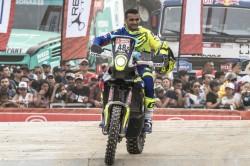 Sherco Tvs Factory Rally Team Kickstarts Dakar 2019 With Ceremonial Flag Off Held In Lima