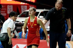 Carolina Marin Faces Lengthy Injury Lay Off After Rupturing