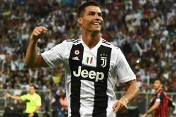 Juventus Ac Milan Ronaldo Heads Bianconeri To Supercoppa Glory