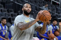 Nba Wrap Demarcus Cousins Scores 14 Points In Warriors Debut Friday Scores Highlights