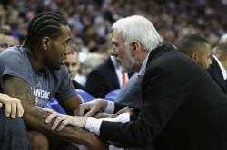 Nba News Spurs Coach Gregg Popovich Fans Treat Kawhi Leonard Respect Homecoming Raptors