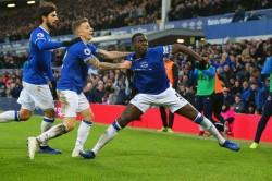 Everton 2 Bournemouth 0 Kurt Zouma Dominic Calvert Lewin