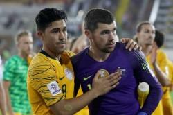 Afc Asian Cup Australia 0 Uzbekistan 0 Aet 4 2 On Penalties Ryan Heroics See Holders Hobble Onwards