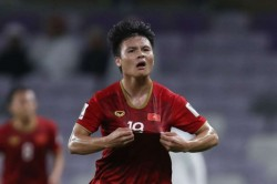 Afc Asian Cup Vietnam 2 Yemen 0 Quang Hai Shines Give Golden Dragons Hope