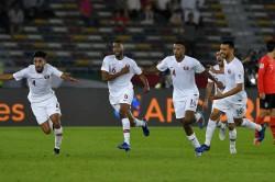 Asian Cup 2019 South Korea 0 Qatar 1 Abdelaziz Hatim Goal Match Report