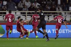 Afc Asian Cup Qatar 1 Iraq 0 Al Rawi Free Kick Books Quarter Final Spot