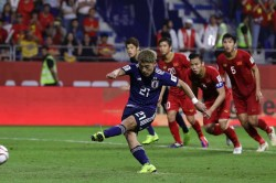 Afc Asian Cup Vietnam 0 Japan 1 Moriyasu S Men Reach Semis As Var Dominates On Asian Cup Debut