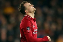 Xherdan Shaqiri Expects Liverpool Response Wolves Fa Cup Loss Premier League