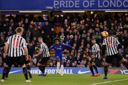 Chelsea 2 Newcastle United 1 Willian Wins It For Blues