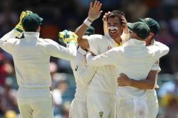 Mitchell Starc Usman Khawaja Australia Sri Lanka Second Test