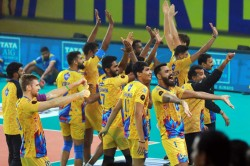 Pro Volleyball League Chennai Spartans Defeat Kochi Blue Spikers Enter Final