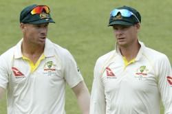 Smith Warner Walk Back Australia Team Clarke