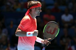 Ferrer Saves Six Set Points Querrey Through New York