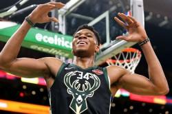 Nba Wrap Giannis Antetokounmpo Bucks Nip Celtics Extend Lead Eastern Conference