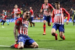 Atletico Madrid 2 Juventus 0 Advantage Atleti After Late Double