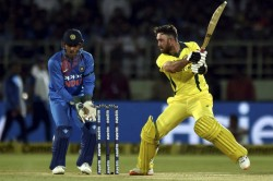 India Vs Australia Maxwell Coulter Nile Shine As Aussies Scrape Home In First T20i