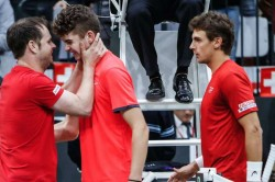 Davis Cup Switzerland Russia 15 Year Old Jerome Kym Germany Hungary