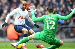 Tottenham 1 Newcastle United 0 Dubravka S Late Howler Sends Spurs Second