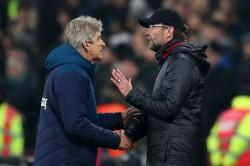 Klopp Winning With Offside Goals Pellegrini Liverpool West Ham Premier League News