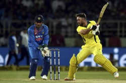 India Vs Australia It Was Difficult Track Even A Player Like Dhoni Maxwell Defends Msd