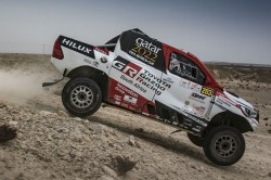 Al Attiyah Takes Small Lead Qatar Rally