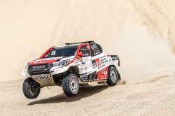 Al Attiyah Wins Third Stage Take Command Over Fia Qatar Cros