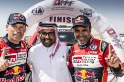 Al Attiyah Wins Fia Qatar Rally The Sixth Time