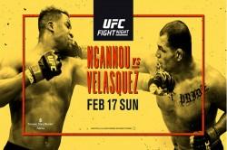 Ufc On Espn Ngannou Vs Velasquez Fight Card Schedule