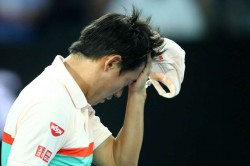 Roberto Bautista Agut Kei Nishikori Out Dubai Tennis Championships Roger Federer Through