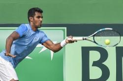 India Crash Of Davis Cup Tennis