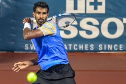 Chennai Open Prajnesh Mukund Bow In Semis