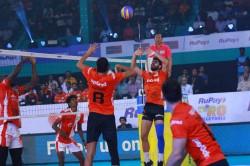 Pro Volleyball League Calicut Heroes Overcome Resurgent U Mumba Volley 3