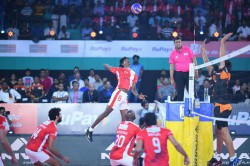 Pro Volleyball League Calicut Heroes Qualify The Playoffs As They See Off Hyderabad 3