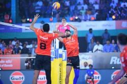Pro Volleyball League Black Hawks Hyderabad Defeat U Mumba Volley Keep Playoff Chances Alive