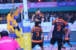 Pvl 2019 Chennai Spartans Register First Win As They Beat Black Hawks Hyderabad 4