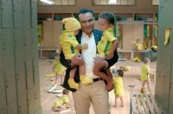 India Vs Australia Never Take Aussies A Joke Matthew Hayden Virender Sehwag Babysitting Ad