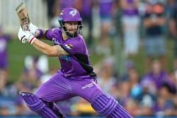 Hobart Hurricanes Beat Melbourne Renegades Big Bash League Matthew Wade Half Century